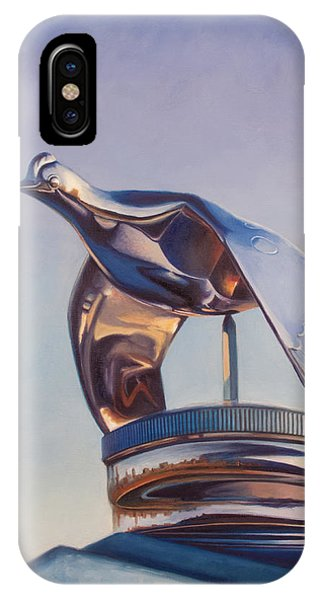 IPhone Case featuring the painting Roadster by Joe Winkler