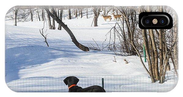 Roaming Deer Phone Case by Randy Saragosa