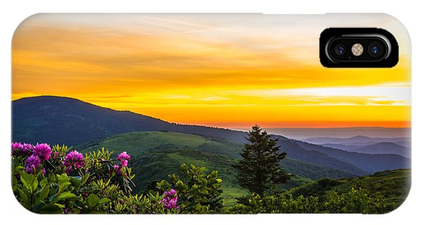 Roan Mountain Sunset IPhone Case