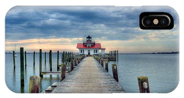 Roanoke Marshes Light 2 IPhone Case