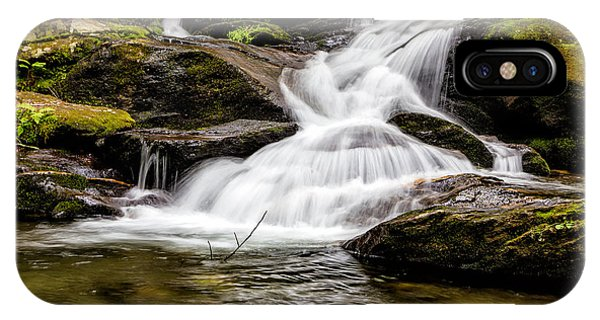 Roaring Fork Falls 04 Detail IPhone Case