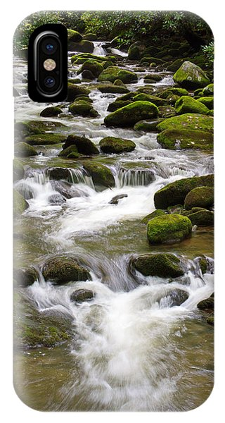 Roaring Fork With Boarder IPhone Case