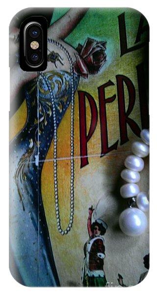 Roaring Twenties Elegance And Pearls IPhone Case