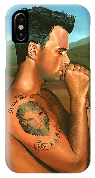 Robbie Williams 2 IPhone Case