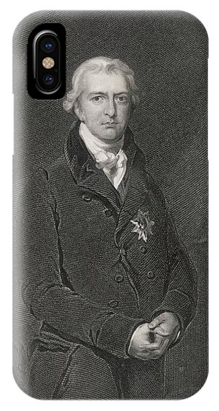 Robert Banks Jenkinson (1770-1828) Phone Case by Mary Evans Picture Library