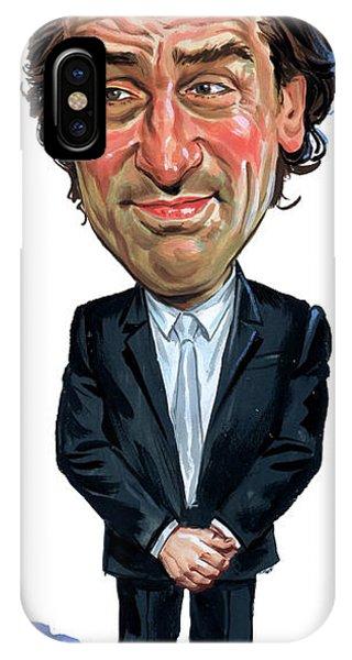 Robert De Niro iPhone Case - Robert De Niro by Art