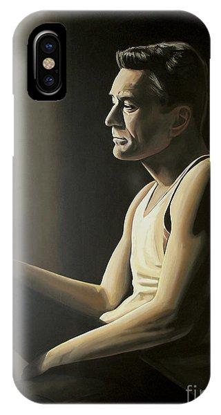 Robert De Niro iPhone Case - Robert De Niro by Paul Meijering