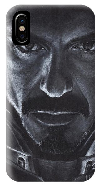 Robert Downey Jr.  Phone Case by Rosalinda Markle
