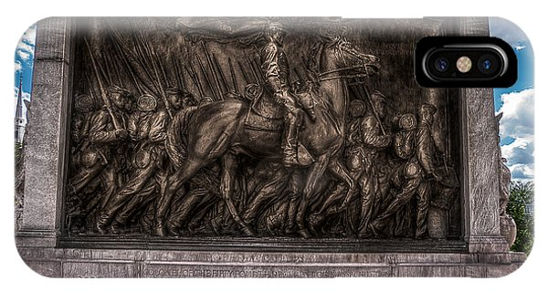Robert Gould Shaw Memorial On Boston Common IPhone Case