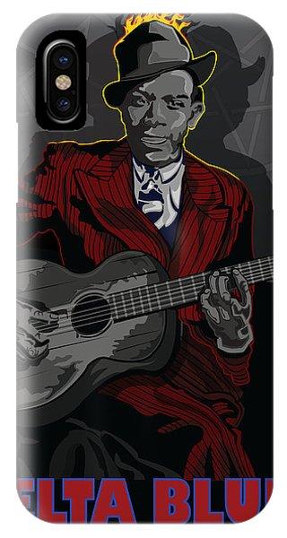 Robert Johnson Delta Blues Phone Case by Larry Butterworth