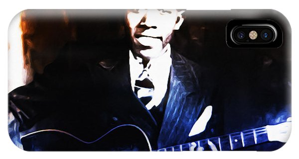 Robert Johnson - King Of The Blues IPhone Case