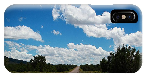 Robert Melvin - Fine Art Photography - Anvil Rock Road IPhone Case