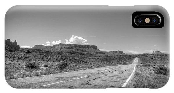 Robert Melvin - Fine Art Photography - Highway 128 IPhone Case