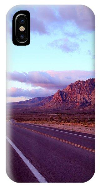 Robert Melvin - Fine Art Photography - Highway 159 IPhone Case
