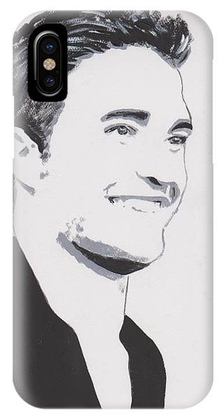 Robert Pattinson 139 A IPhone Case