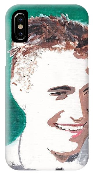 Robert Pattinson 146 A IPhone Case
