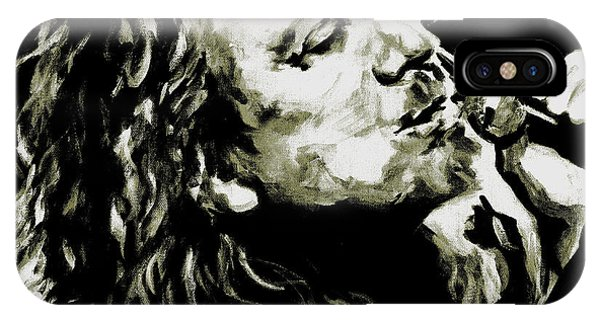 Robert Plant. The Lullaby And The Ceaseless Roar IPhone Case