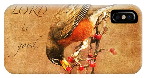 Robin Psalms Thirty-four IPhone Case