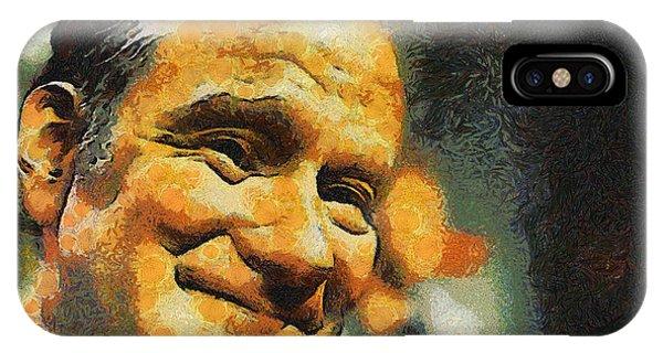 Robin Williams Comedian iPhone Case - Robin William by Galeria Trompiz
