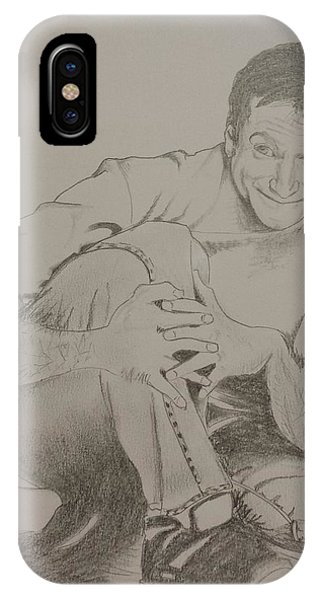 Robin Williams Comedian iPhone Case - Robin Williams by DMo Herr
