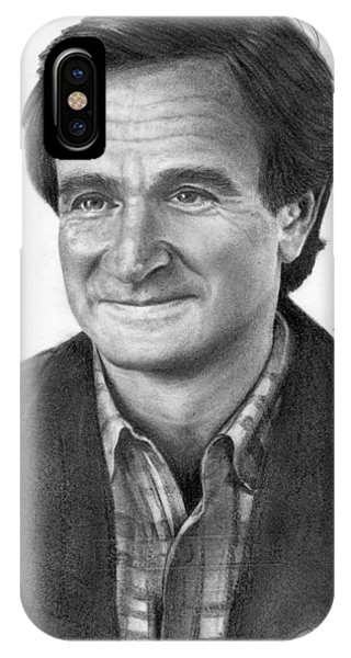 Robin Williams Comedian iPhone Case - Robin Williams by John Balestrino
