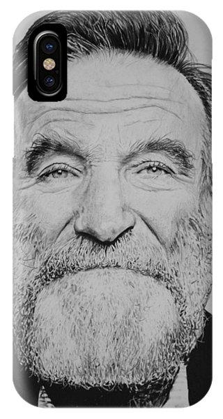 Robin Williams Comedian iPhone Case - Robin Williams by Joshua Navarra