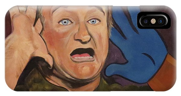 Robin Williams Comedian iPhone Case - Robin Williams by Laura Enninga