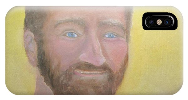 Robin Williams Comedian iPhone Case - Robin Williams 1 by Liz Snyder