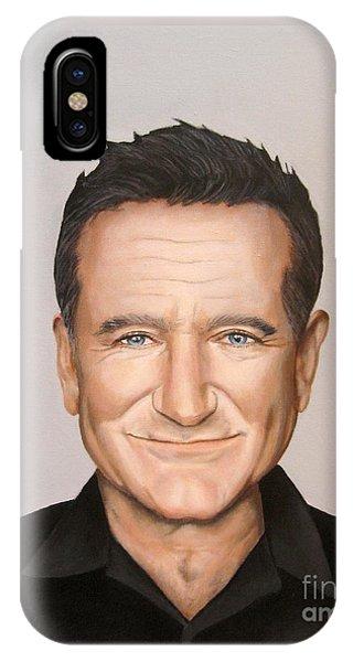 Robin Williams Comedian iPhone Case - Robin Williams by Venus