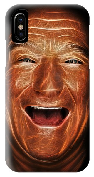 Robin Williams Comedian iPhone Case - Robin Williams by Will Anderson