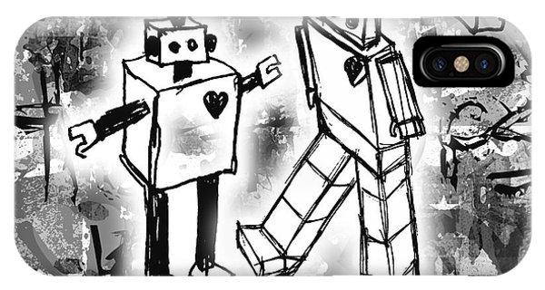 Robot Love IPhone Case