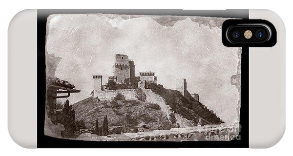 Rocca Maggiore Castle IPhone Case