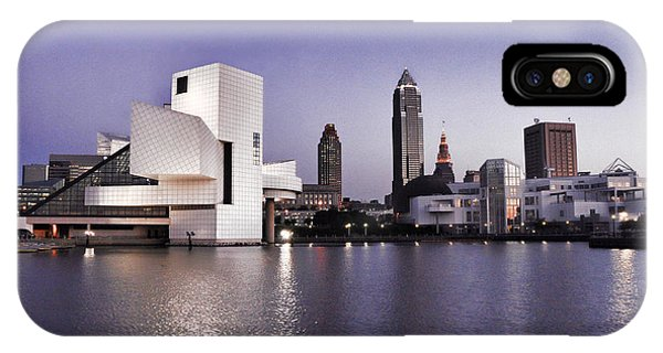 IPhone Case featuring the photograph Rock And Roll Hall Of Fame - Cleveland Ohio - 2 by Mark Madere
