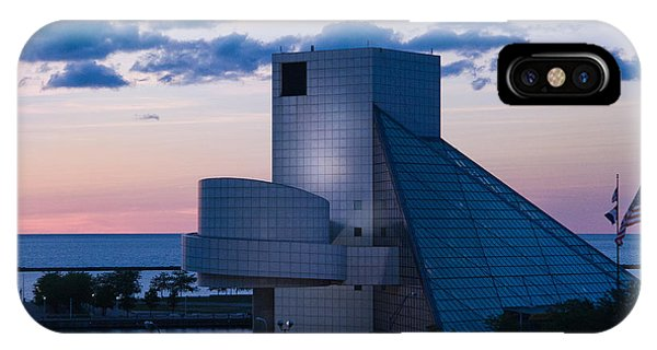 Rock And Roll Hall Of Fame IPhone Case