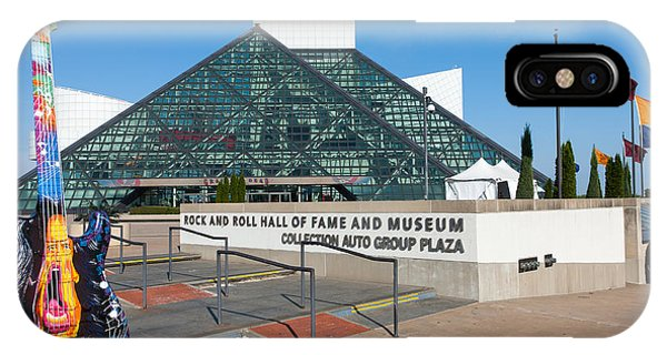 Rock And Roll Hall Of Fame IIi IPhone Case