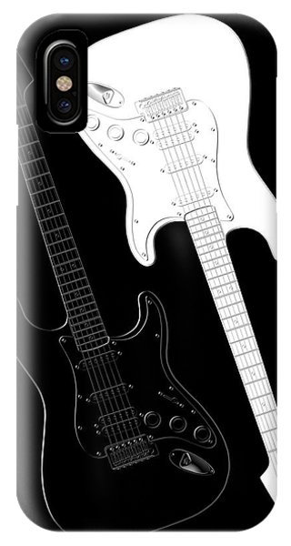 Music iPhone Case - Rock And Roll Yin Yang by Mike McGlothlen