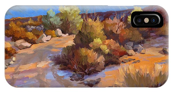 Rock Cairn At La Quinta Cove IPhone Case