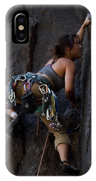 Rock Climbing IPhone Case