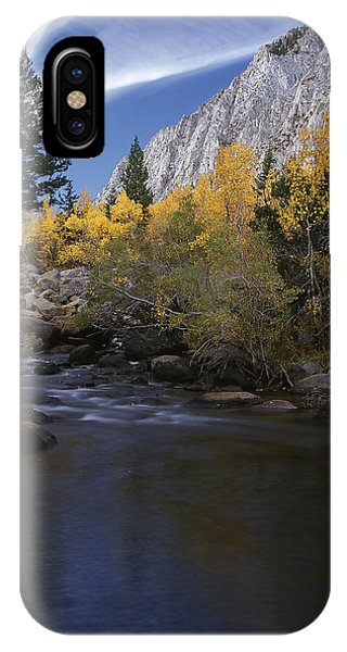Rock Creek Canyon Gold IPhone Case