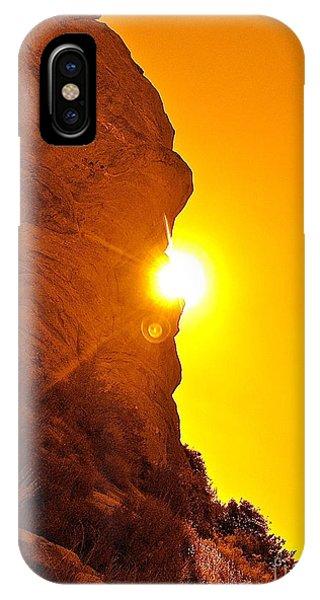 Rock Eclipse  IPhone Case