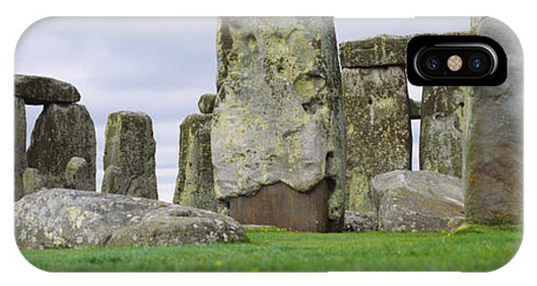 Rock Formations Of Stonehenge IPhone Case