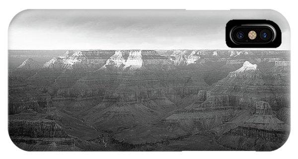 Rock Formations On A Landscape, Hopi IPhone Case