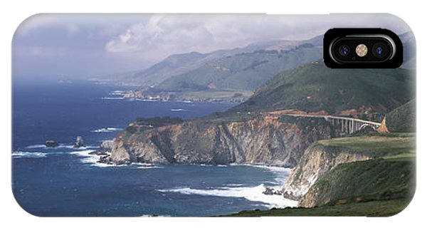 Rock Formations On The Beach, Bixby IPhone Case