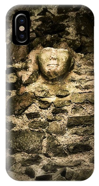 The Face In The Wall - Rock Of Cashel IPhone Case