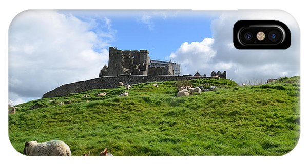 Rock Of Cashel In The Distance IPhone Case