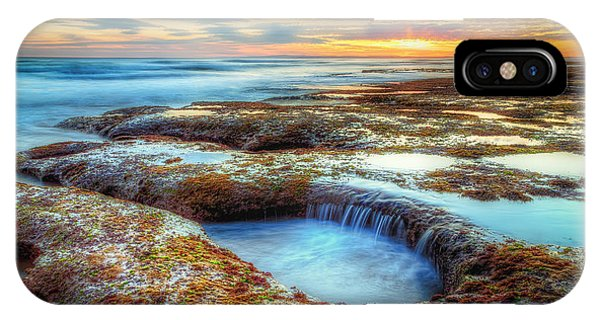 Rock Pools Phone Case by Paradigm Blue
