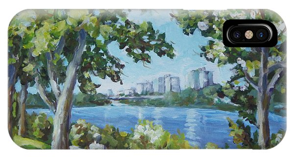 Rockford iPhone Case - Rock River by Ingrid Dohm