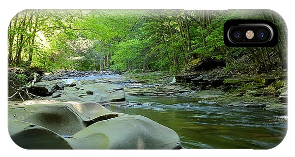 Rock Run #1 - Loyalsock State Forest IPhone Case