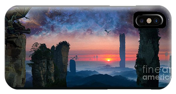 Rock Towers IPhone Case