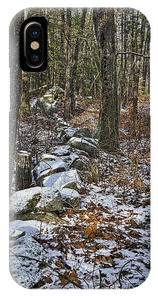 Rock Wall - Maine IPhone Case